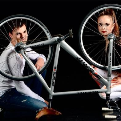 Artistic Bicycle Cabaret Show