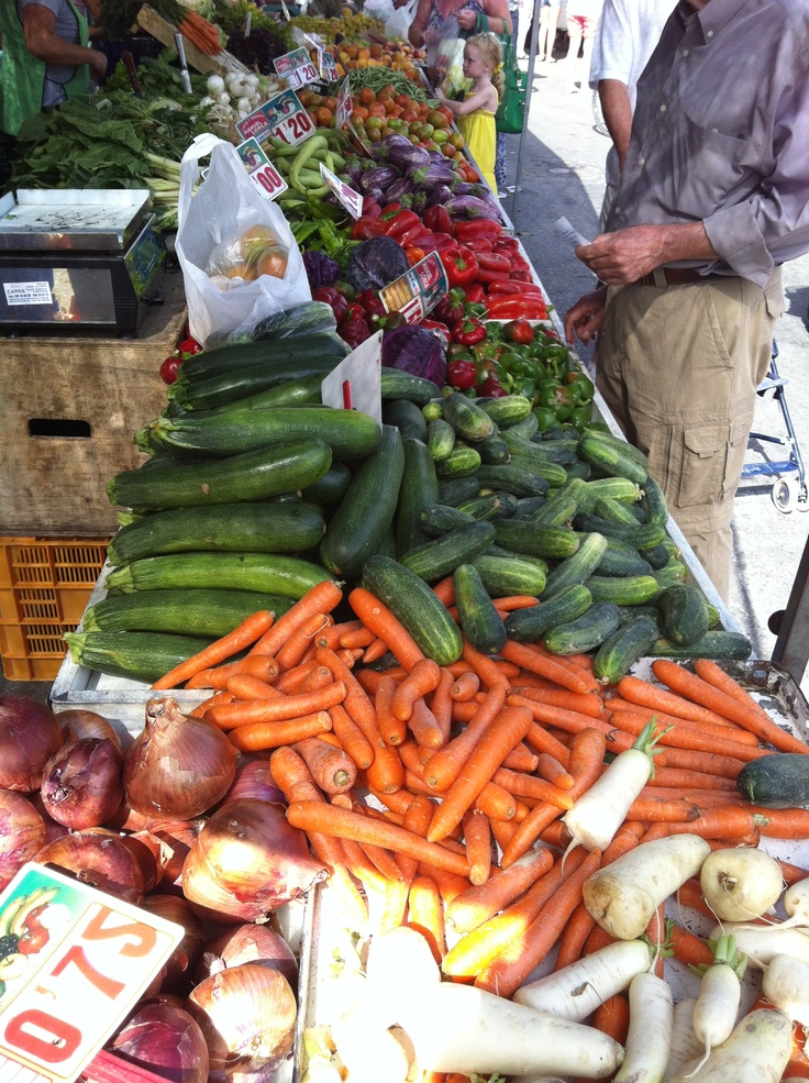 Min fars lokale marked i Spanien
