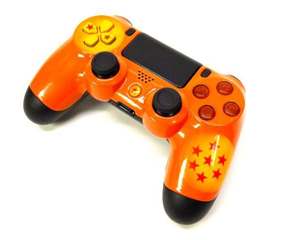 Dragon Ball Z Custom PS4 Controller SALE by LaZaModz on Etsy
