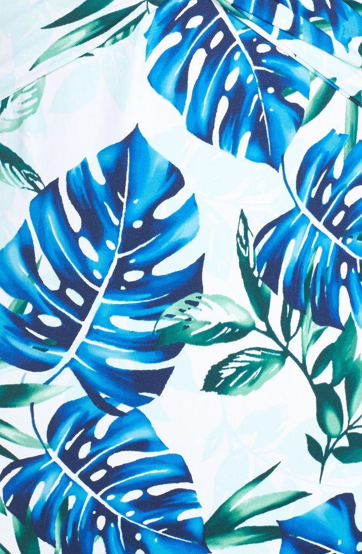 Tropical Print Halter