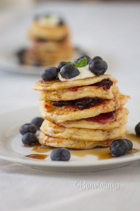 Lievance (Slovak Yeast Pancakes)