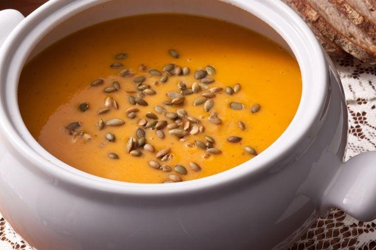 La soupe d'automne parfaite...La soupe à la courge Butternut
