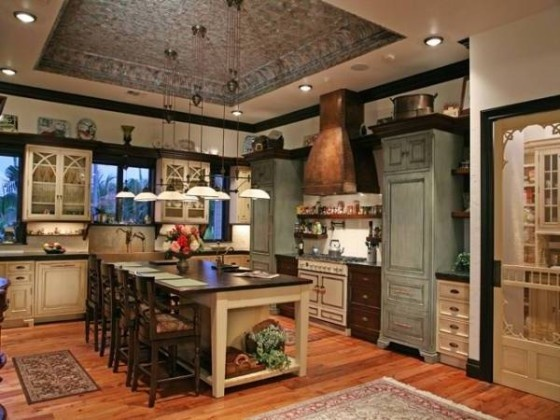 Victorian Kitchen - Gorgeous!