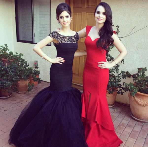 Laura Marano (Austin & Ally) and her sister Vanessa Marano (Switched at Birth) look so glam and beautiful for the UNICEF Ball on Tuesday evening! I was