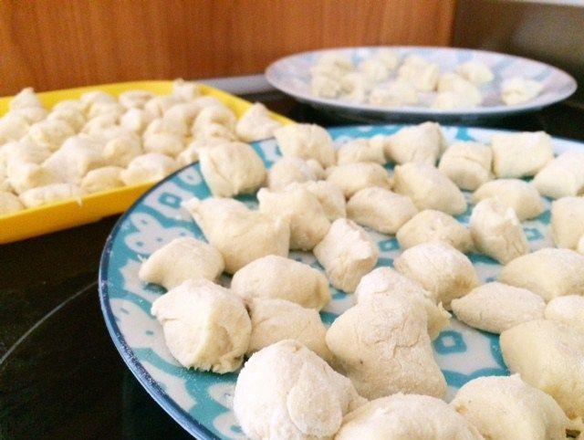 Gnocchi from Leftover Mashed Potato