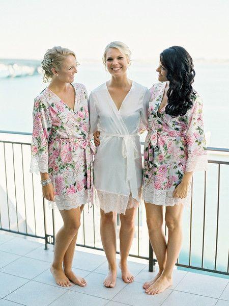 bridal robes wedding robes bridesmaid robes bridal party robes