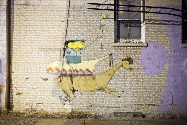Os Gêmeos (São Paulo, Brazil) | Community Post: 9 World Famous Street Artists (You Never Would Have Guessed Are) Up In Cincinnati, OH
