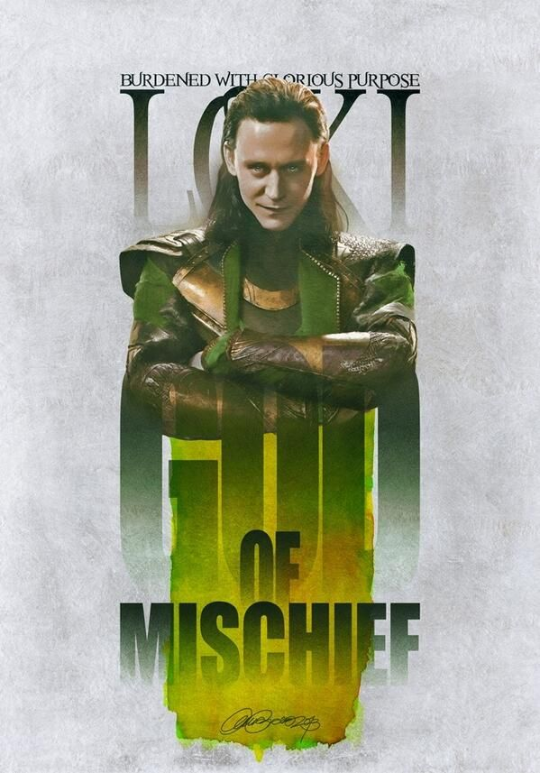 "Tom Hiddleston ""Loki"" Fan Art (Source unknown, if you know let me know)"