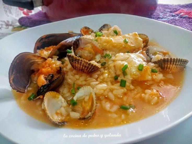 Arroz marinero express - La cocina de Pedro y Yolanda