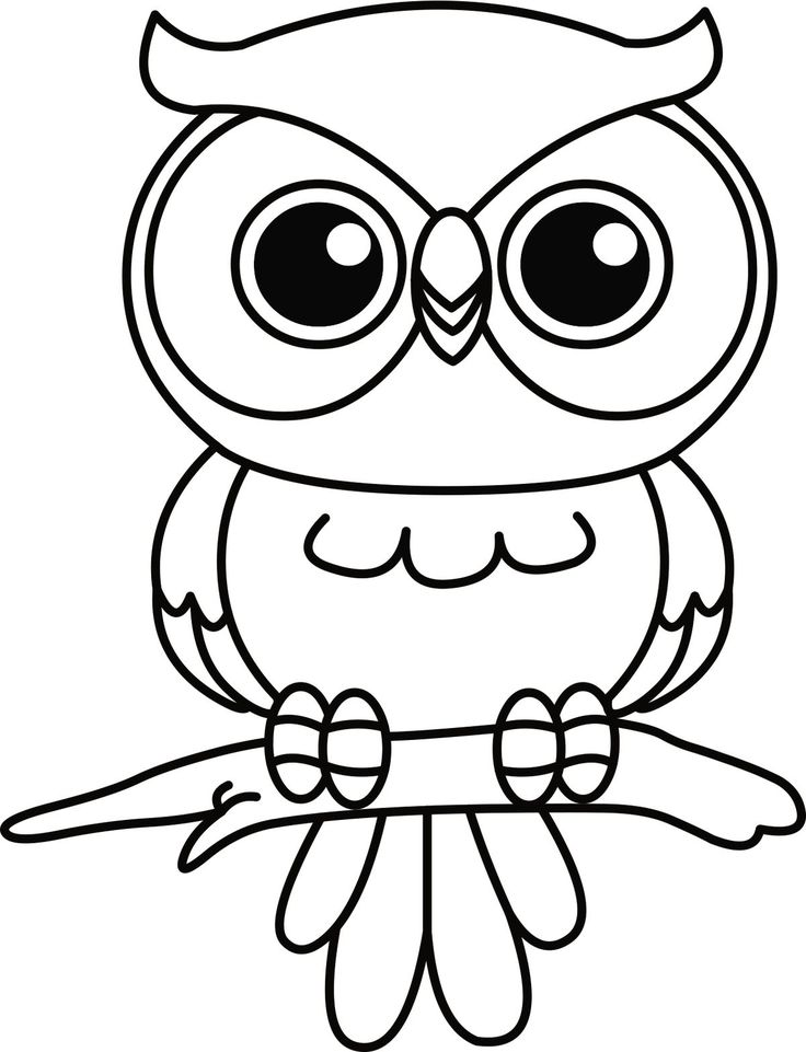 20+ Cute baby owl coloring pages ideas in 2021