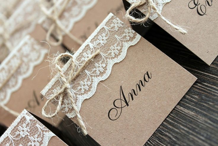shower name cards