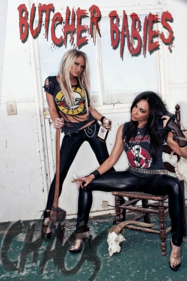 Butcher Babies will KICK your ass then bury you!