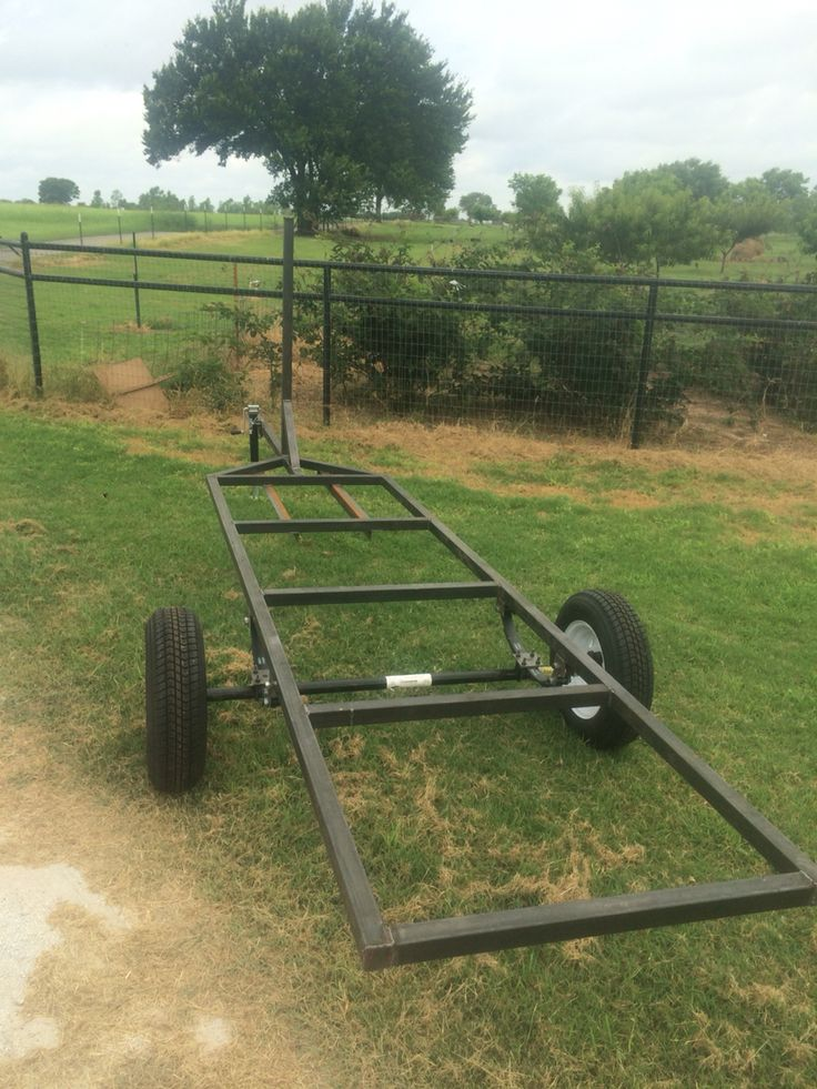 Welding projects- sailboat trailer