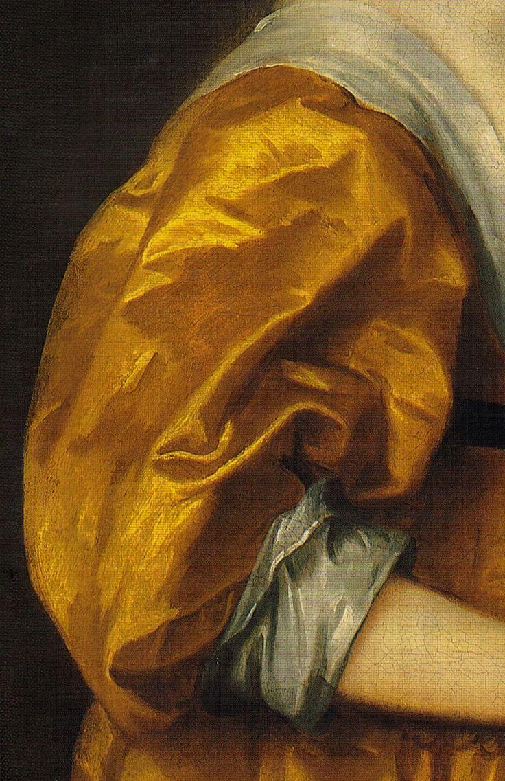 Pintura: detalhe de quadro do pintor Anthony Van Dyck