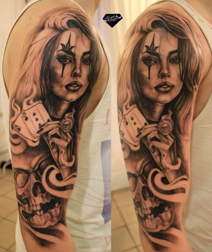 Chicano-pin-up-girl-tattoo2-863x1024.jpg (863×1024)