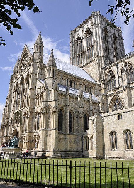 //The remarkable York Minster is the largest medieval cathedral in all of Northern Europe, and one of the world's most beautiful Gothic buildings... Read more: http://www.lonelyplanet.com/england/yorkshire/york/sights/religious/york-minster#ixzz3QnA1wEXo