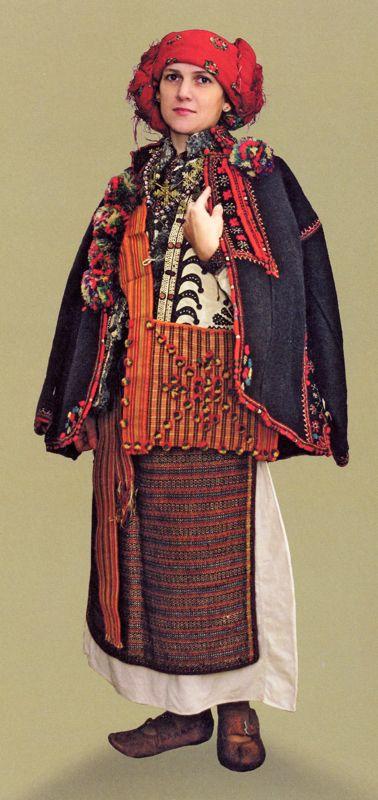 Traditional Ukrainian costume - Hutzul