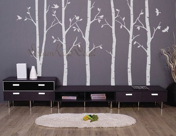 Hey, I found this really awesome Etsy listing at https://www.etsy.com/ca/listing/130578593/birch-trees-decalswall-decals-nature