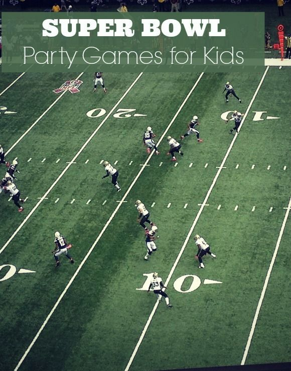 Exciting Super Bowl Party Games for Kids