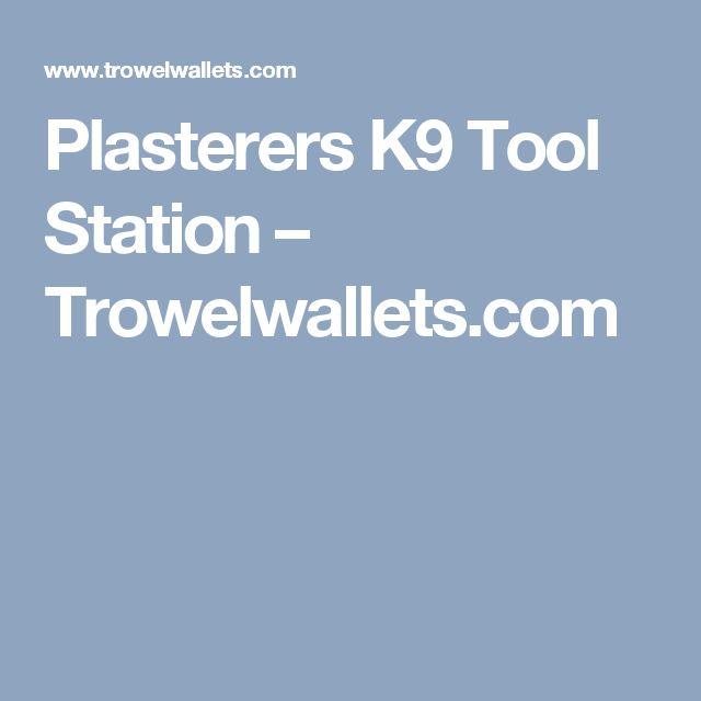 Plasterers K9 Tool Station – Trowelwallets.com