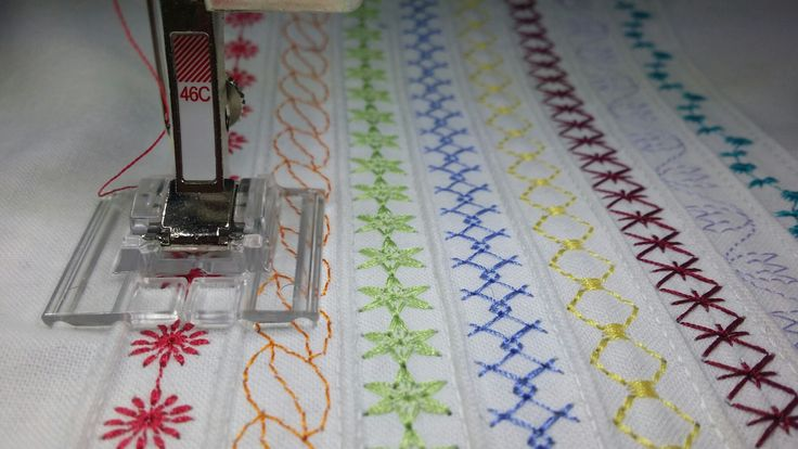 Bernina #46 foot (pintuck &  decorative stitch)
