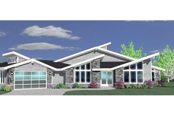 House Plan 509 9 One Day Pinterest Modern House