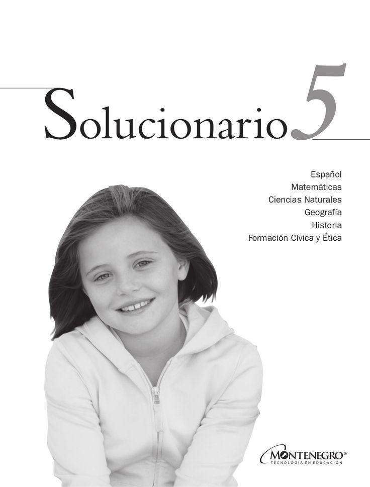 Solucionario 5º  by Miguel Trinidad Ojeda via slideshare