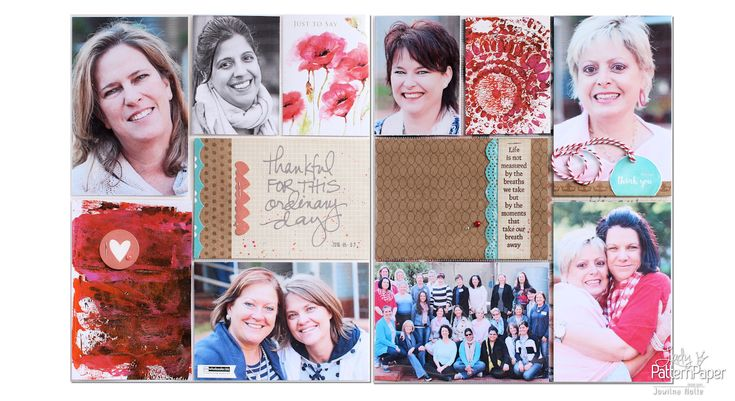 I love the simplicity of a project life layout, it enables me to add lots of photos & I can add my own spin to it just the way I like it! #LadyPatternPaper #KraftEssentials #ProjectLife