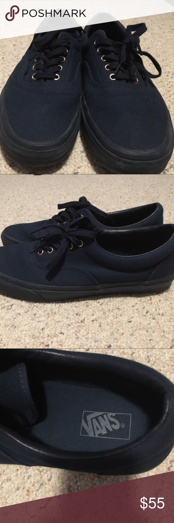 Men's vans size 13 Men's vans size 13, worn once inside my home mint condition need gone will accept anything reasonable Vans Shoes Sneakers