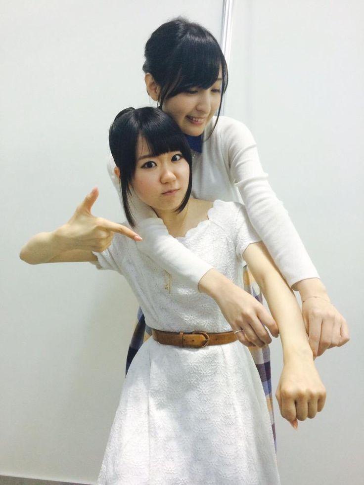 Ayane SaKura and Touyama Nao