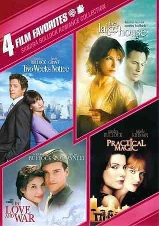 This four-pack of Sandra Bullock vehicles includes the romantic comedy TWO WEEKS, with Hugh Grant; the fantasy romance THE LAKEHOUSE; the war romance In Love and War; and the fantasy comedy PRACTICAL