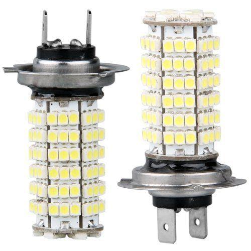 2 X H7 AMPOULE LAMPE 3528 SMD 120 LEDs BLANC 12V POUR VOITURE: 2 X H7 AMPOULE LAMPE 3528 SMD 120 LEDs BLANC 12V POUR VOITURE Cet article 2…