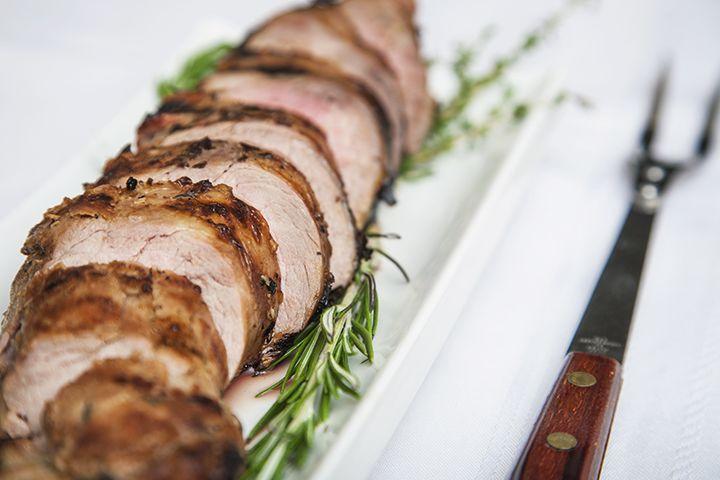 Filet de porc mariné thym et romarin