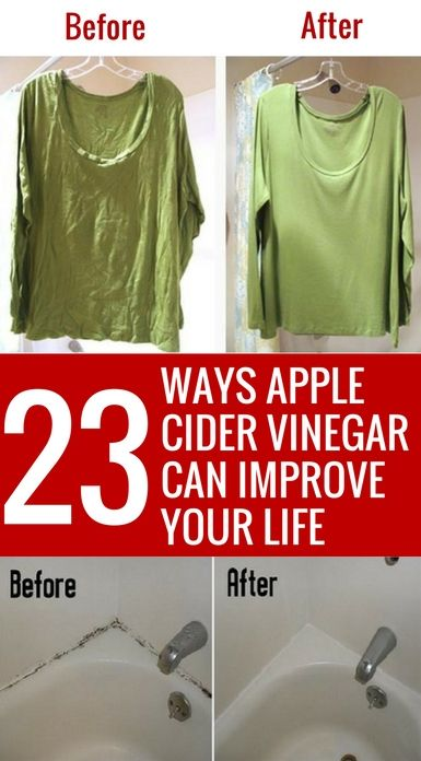Who knew that apple cider vinegar could be used for SO many things from health…