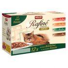 Mixpakket Animonda Rafiné Soupé Kattenvoer 12 x 100 g, met veel saus