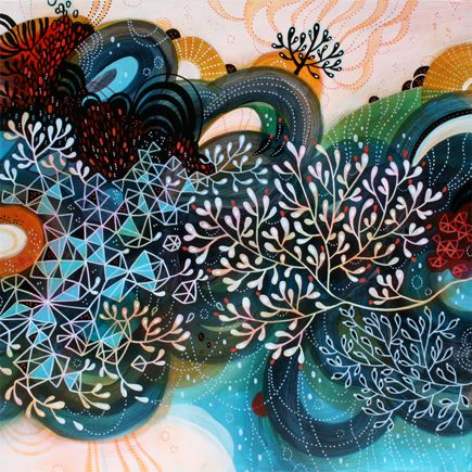 Wow! I had not seen her paintings before. Lovely. by Yellena James