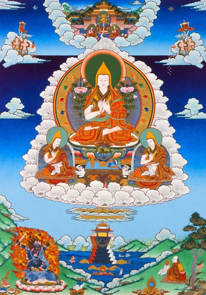 Cutting through conditioned existence ~ Lama Tsongkhapa http://justdharma.com/s/41bjn  If you lack the wisdom that realizes the nature of things,  Although you might grow accustomed to renunciation and bodhicitta,  You will be incapable of cutting through conditioned existence at its root,  Exert yourself, therefore, in the methods for realizing interdependence.  – Lama Tsongkhapa  Three Principal Aspects of the Path  source…