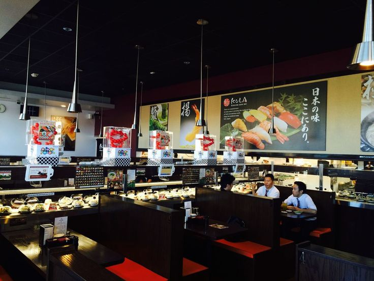 Hop On the Sushi-Go-Round at Kula Revolving Sushi Bar - Eater San Diego