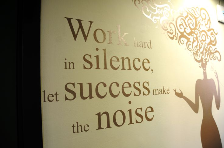 #SUCCEED Work hard in silence Let SUCCESS make the noise - Uffici #ALTEASpA a Lainate (MI)