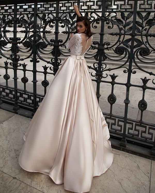 Item Type Wedding Dresses Back Design Zipper Silhouette Ball Gown Built In Bra Yes Decoration La Ball Gowns Wedding Wedding Dress Champagne Wedding Dress Backs