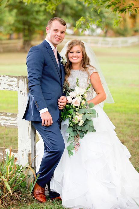 Kendra and Joe Duggar's Wedding Photos | Counting On | TLC