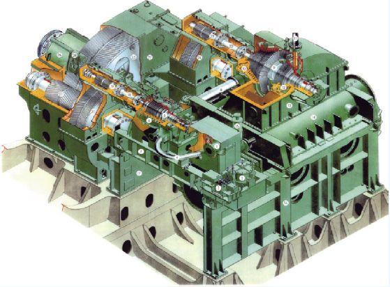 Marine Propulsion Steam Turbine  Kawasaki Heavy Industries, Ltd. KHI