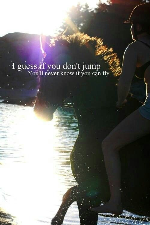 I know you can sub with a long gallop but its not the same lol jumping is a passion even if im not great at it lol