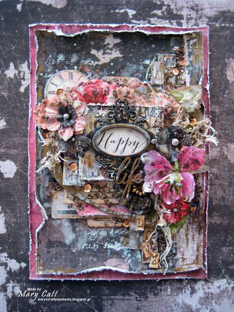 Mary's Crafty Moments: ''Happy Life'' - DT Layout for Scrap Africa