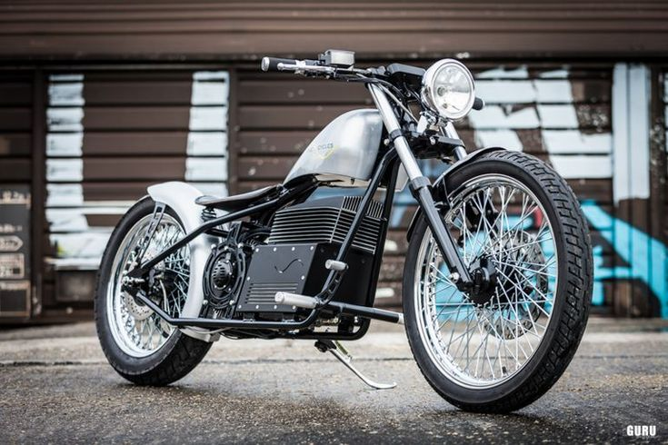 (VIDEO) Sine Cycles, une superbe moto électrique Chopper - TechVehi