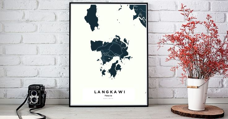 Langkawi | Custom Map Maker – Make Your Own Map Poster Online - YourOwnMaps