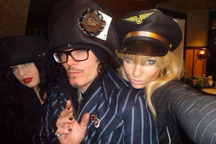 Adam Ant, Georgina Baillie & Twinkle