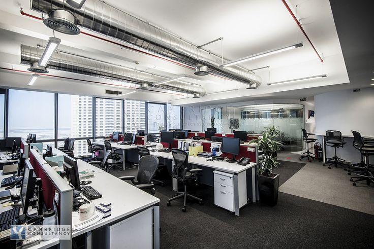 Wsp Office Modern Design Open Ceiling Industrial