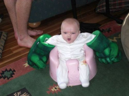 this made me laugh!: Hulksmash, Parents Done Rights, Funny Stuff, Hulk Smash, Baby Pictures, Funny Baby, Babyhulk, Kid, Baby Hulk