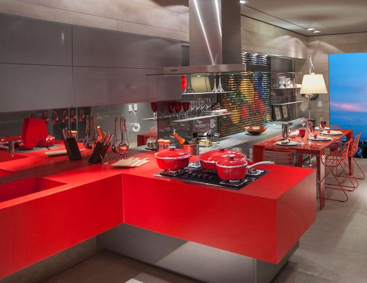 Casa Cor Alagoas - 2014: Cozinha do Casal Francês por Inês Amorim.